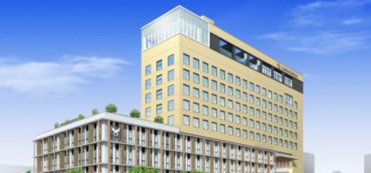 (奈良の事例)ホテルと一体の新庁舎